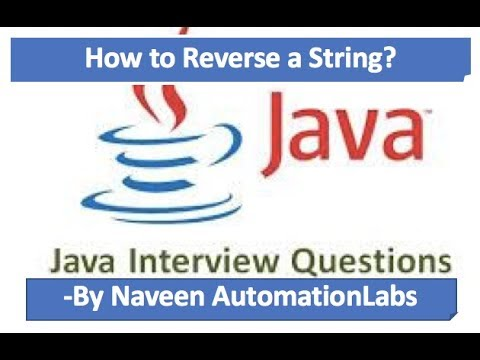 Core Java - Interview Questions and Answers for 'String