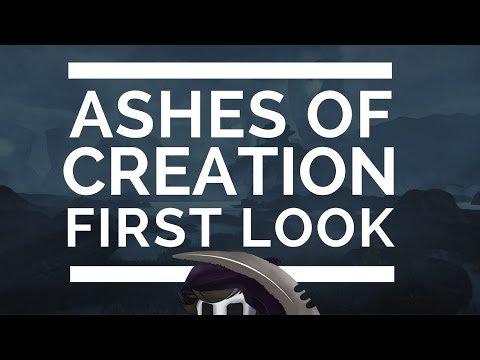New MMORPG - Ashes of Creation - First Look!