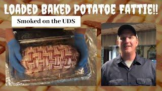 Fully Loaded Baked Potato Fattie!!