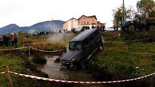 ЖЕСТЬ!!! Как убить Mercedes-Benz Geländewagen OFROAD