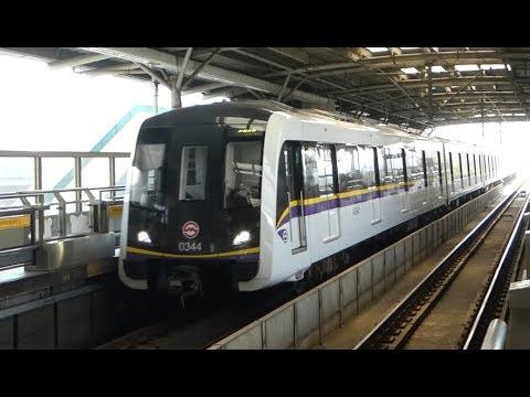 Trains in China - Shanghai Metro Line 3