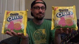 Brad Tries Peeps Oreos