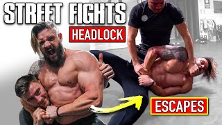 Most Painful Self Defence Moves | BULLY HEADLOCK ESCAPES | Street Fight Quarantine Survival! (Pt.2)