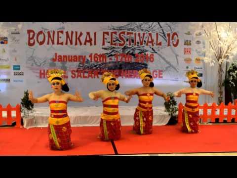 Sanggar Tari Bali Rara, Tari Tenun Bonenkai 10