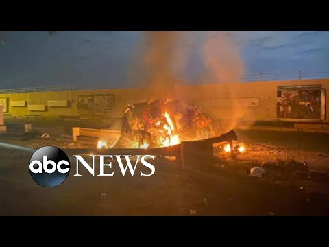 Dramatic Escalation With Airstrike In Iraq L ABC News