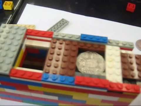 HOW TO MAKE A LEGO MONEY BOX - YouTube