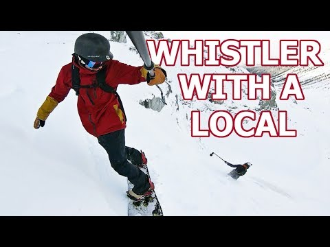 Snowboarding With A Local In Whistler, BC