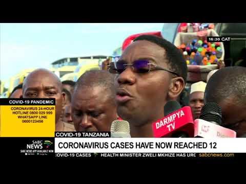 Coronavirus I Tanzania's COVID-19 cases reach 12