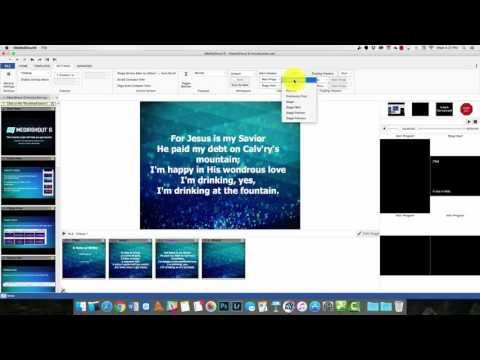 MediaShout 6 Worship Software Review
