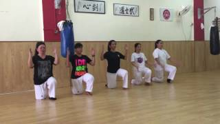 NDF's first Taekwondo Aerobic Choreography with FILODEP Singapore