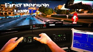 GTA 5 LSPDFR - FIRST PERSON VIEW - Hardcore Henry Style