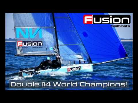 "Fusion Sailboats: ""I14 Fly By"" (HD)"