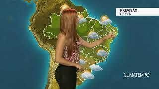 Previsão Brasil - Sexta-feira de muita chuva no BR