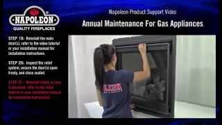 Napoleon Gas Appliance Annual Maintenance Tutorial