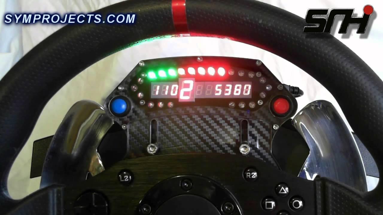 SHR Thrustmaster T500 RS Static Slide SLI – Video – VirtualR