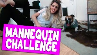 MANNEQUIN CHALLENGE WITH MY DOG // Grace Helbig
