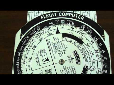 E6B Flight Computer: Gallons Burned
