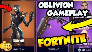 *OBLIVION* SKIN UPDATE GAMEPLAY ONLY! *NEW* FEMALE OMEGA SKIN! NEW Skins in Fortnite!