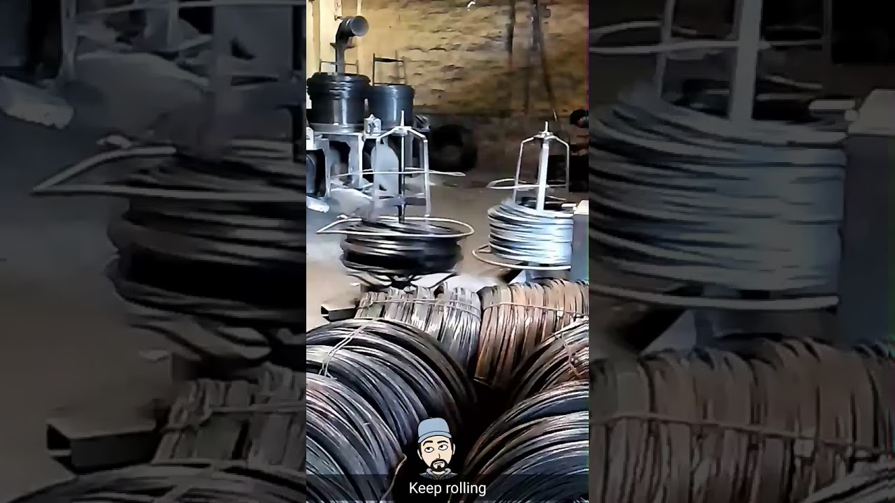 Hb wire drawing machine - YouTube