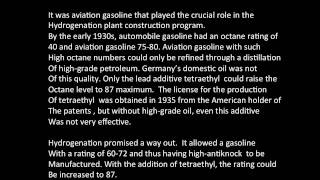 """The Role of Synthetic Fuel in Nazi Germany During World War II"""