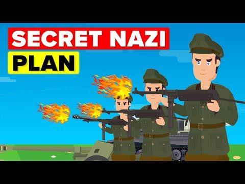 The Nazi's Secret Plan to Destroy British Economy
