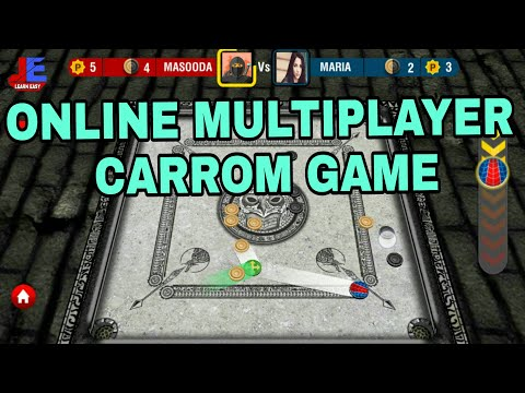 Real Carrom Multiplayer Game Play & Tutorial