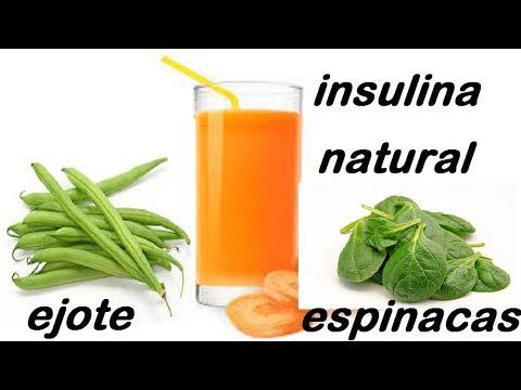 como producir  insulina natural con jugos para personas con diabetes