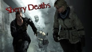 Resident Evil 6: All Sherry Birkin Death Scenes ᴴᴰ