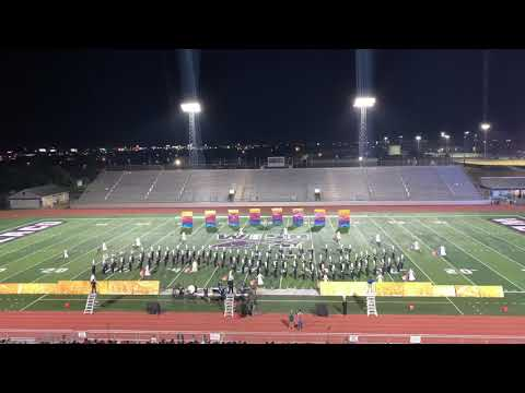2019 Area G Finals - Gladys Porter Early College High School Marching Band