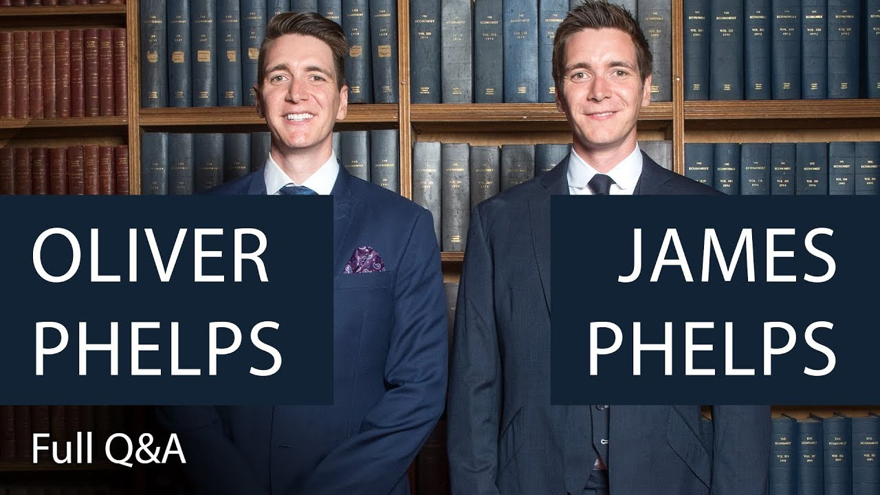Oliver and James Phelps | Full Q&A | Oxford Union - YouTube