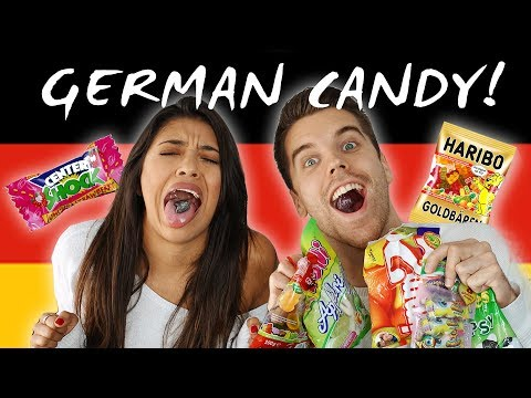 TRYING GERMAN CANDY!!! - Most SOUR candy ever?!?