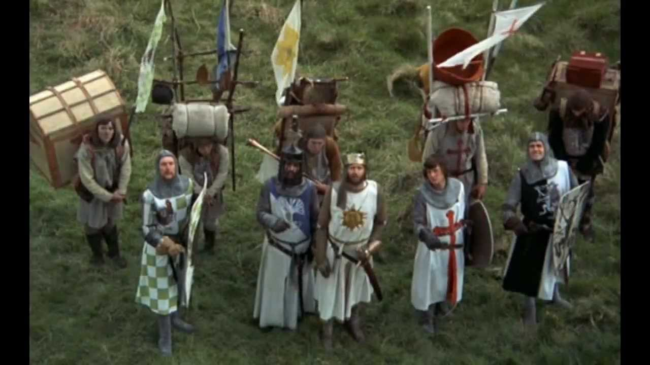 Monty python holy grail video