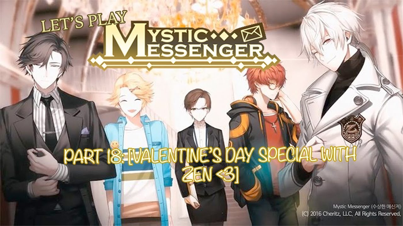 Let S Play Mystic Messenger Part 18 Valentine S Day Special With