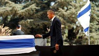 [Live] Obama speaks at Shimon Peres' funeral, Israel