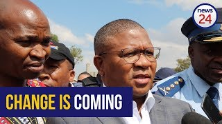 WATCH: Fixing police corruption is at the top of Mbalula's list