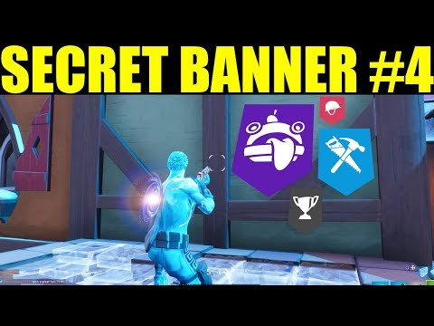 Find the secret banner in Loading screen #4 Hidden Banner/ Battlestar Locations Week 4 Season 7