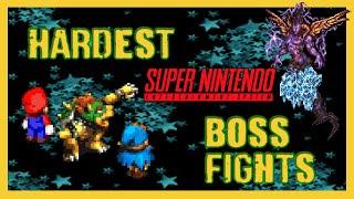 13 Hardest Super Nintendo Boss Fights - SNESdrunk