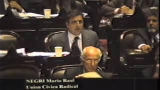 Mario Negri | 24-11-2004 - Prórroga Emergencia Económica