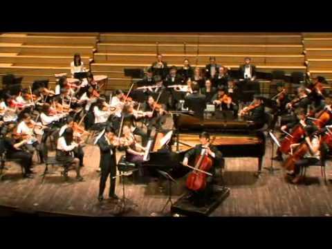 Beethoven Triple Concerto, Movement III: Rondo alla polacca