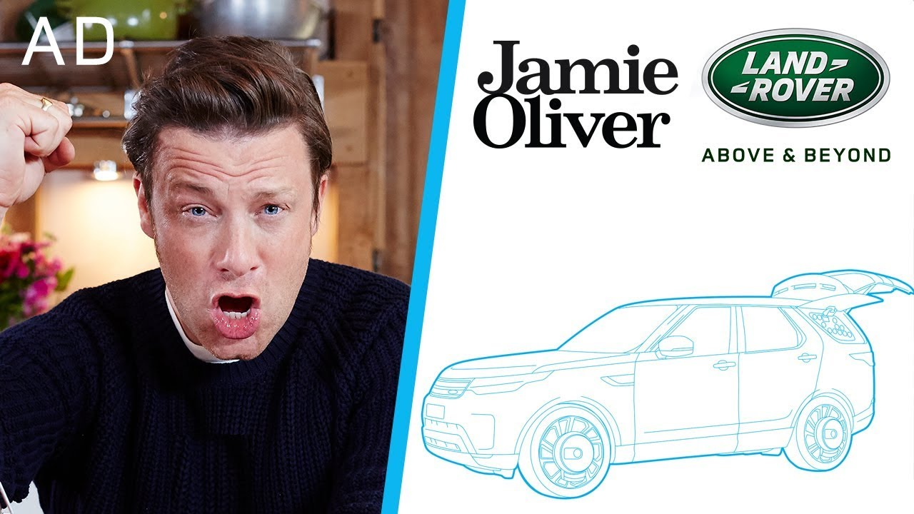 i designed my own kitchen car jamie oliver land rover part 1 ad youtube. Black Bedroom Furniture Sets. Home Design Ideas