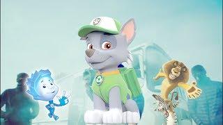 Грибы - Тает Лед (Детский клип) Фиксики, Бетмен, Щенячий патруль, Барбоскины, Мадагаскар