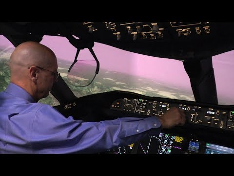 Boeing and NASA Use Synthetic Vision to Make Flight Training Real
