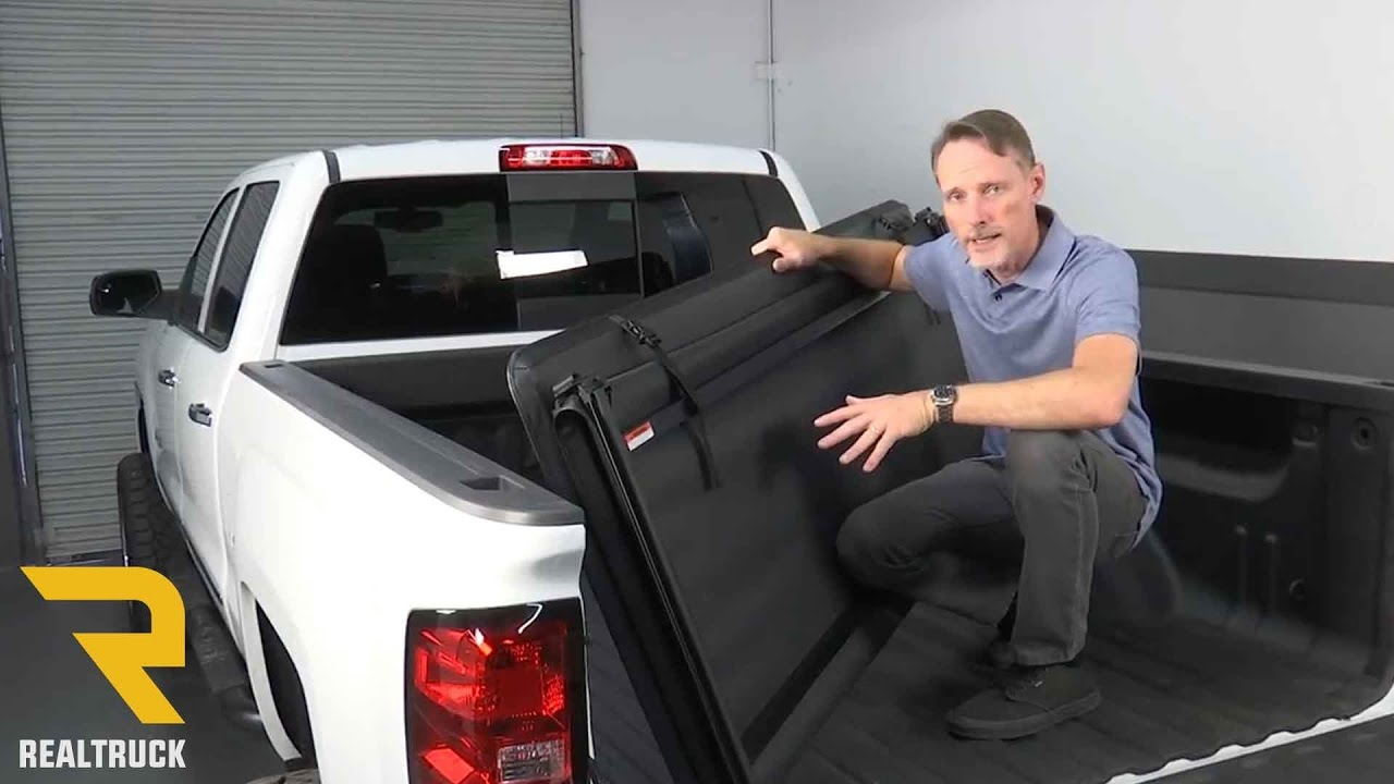 How To Install Gator Tri Fold Pro Tonneau Cover Youtube