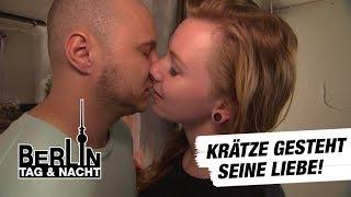Berlin - Tag & Nacht - Krätze gesteht Emmi seine Liebe! #1460 - RTL II