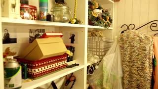 Обзор фотостудии Carlson (Курган) — декорации, лестница, гримерка, ресепшн