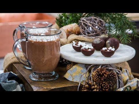Spiced Hot Chocolate Home & Family