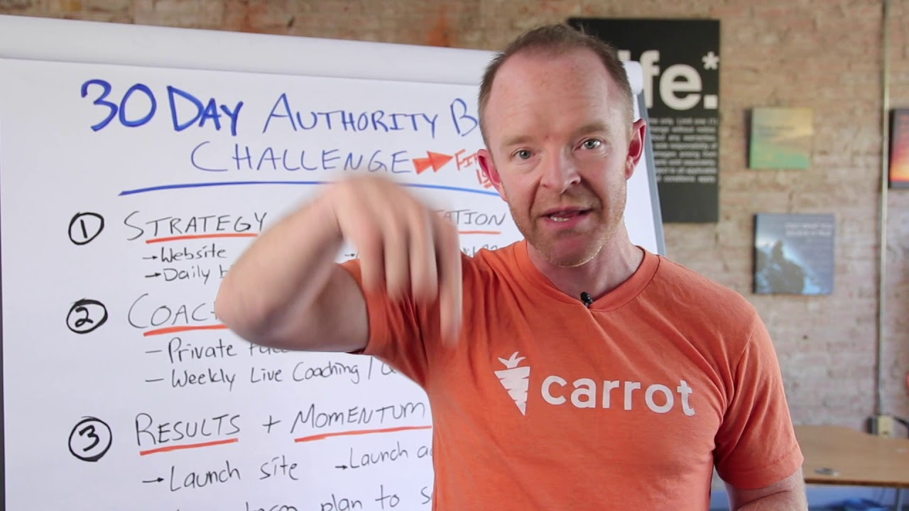 REAL ESTATE INVESTORS: Announcing Carrot's 30-Day Challenge!