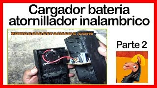 Cargador bateria atornillador inalambrico parte # 2