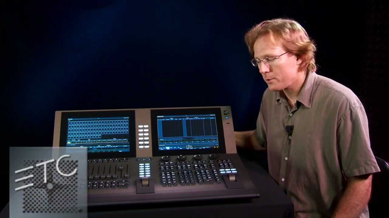 ETC introduces Gio™ lighting control console - YouTube