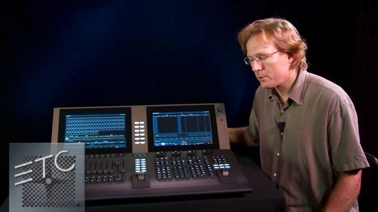 etc introduces gio lighting control console